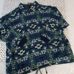 Vintage Venezia Aztec Geo pullover 18/20